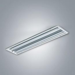 LED 슬림매입개방 22W 2등용